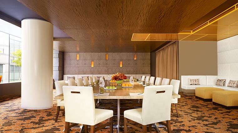 Property JWMarriottLosAngeles Hotel Dining FordsFillingStationPrivateDiningRoom MarriottInternationalInc