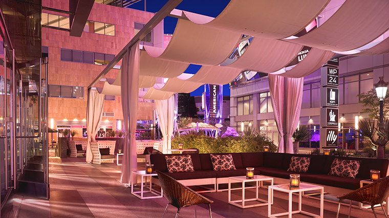 Property JWMarriottLosAngeles Hotel Dining TheMixingRoomPatio MarriottInternationalInc