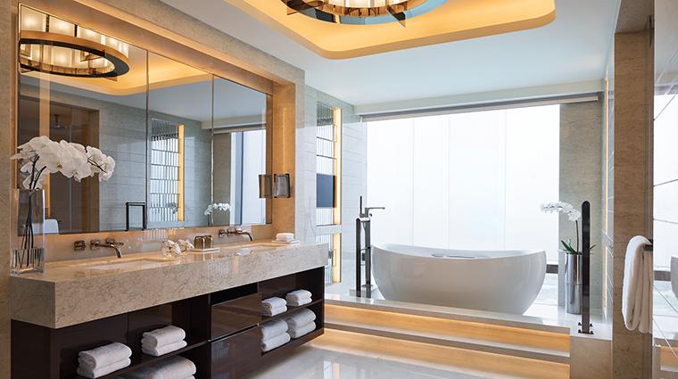 Property JWMarriottMacau Hotel GuestroomSuite ChairmanSuiteBathroom MarriottInternationalInc