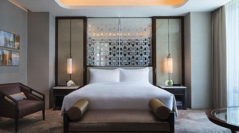Property JWMarriottMacau Hotel GuestroomSuite ChairmanSuiteBedroom MarriottInternationalInc