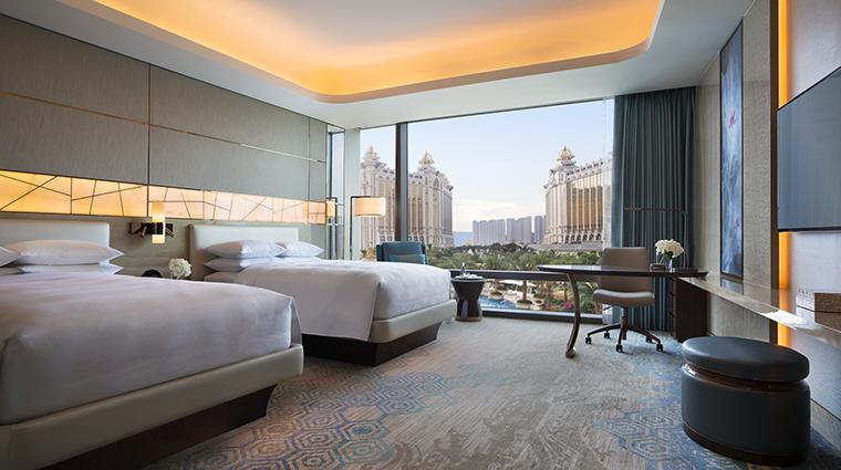 Property JWMarriottMacau Hotel GuestroomSuite DeluxeDoubleDoubleRoom MarriottInternationalInc