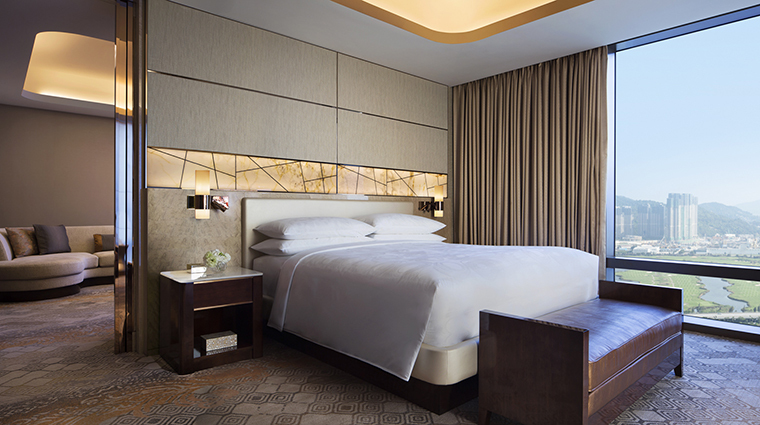 Property JWMarriottMacau Hotel GuestroomSuite ExecutiveSuiteBedroom MarriottInternationalInc