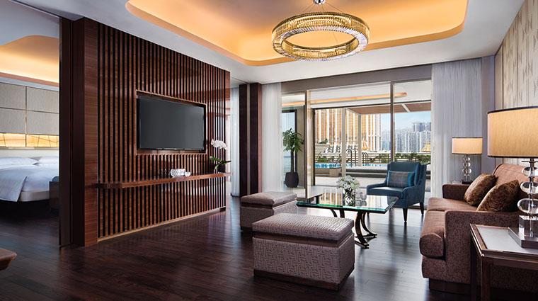 Property JWMarriottMacau Hotel GuestroomSuite RetreatPoolSuiteLivingRoom&Bedroom MarriottInternationalInc