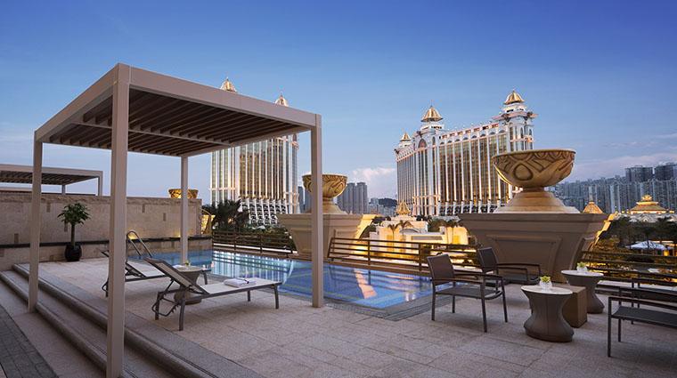 Property JWMarriottMacau Hotel GuestroomSuite RetreatPoolSuitePoolTerrace MarriottInternationalInc