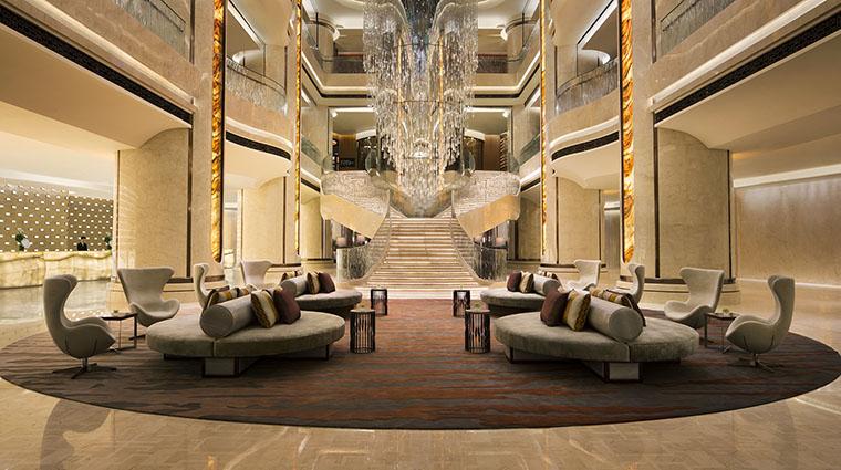 Property JWMarriottMacau Hotel PublicSpaces Lobby MarriottInternationalInc