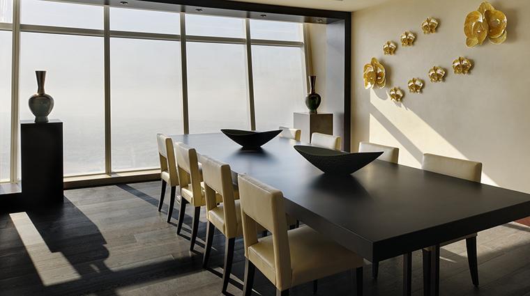Property JWMarriottMarquis Hotel GuestroomSuite PresidentialSuiteDiningArea MarriottInternationalInc