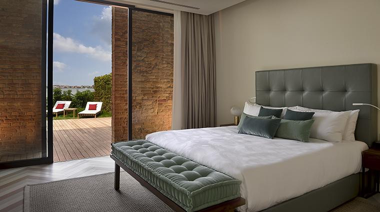 Property JWMarriottVeniceResort&Spa Hotel GuestroomSuite LaResidenzaPoolDeluxeBedroom MarriottInternationalInc