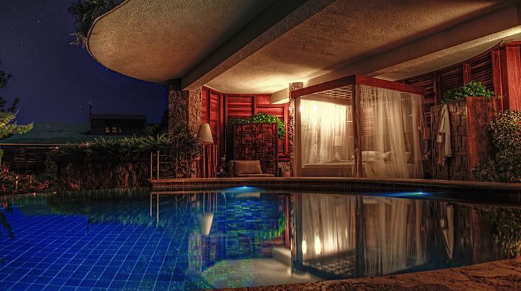 Property JadeMountain Hotel GuestroomSuite SanctuaryPool&Interior JadeMountain