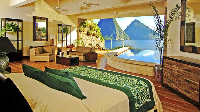 Property JadeMountain Hotel GuestroomSuite StarSanctuary JadeMountain