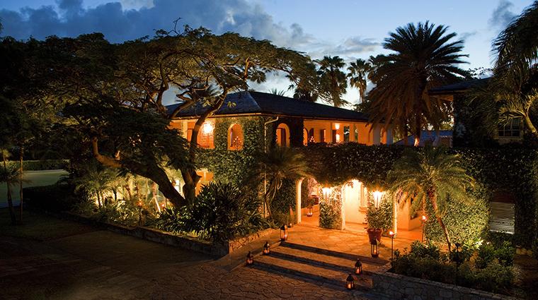 Property JumbyBayARosewoodResort Hotel Dining TheEstateHouse RosewoodHotelsandResortsLLC