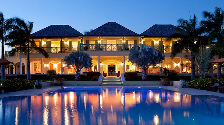 Property JumbyBayARosewoodResort Hotel GuestroomSuite VillaExteriorPool RosewoodHotelsandResortsLLC