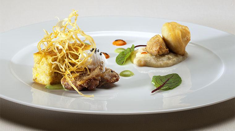 Property KaiRestaurant Restaurant Dining Plate4 WildHorsePass