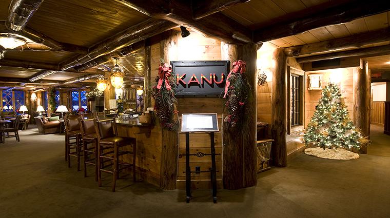 Property KanuDiningRoom Restaurant Dining KanuEntrance TheWhitefaceLodge