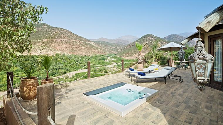 Property KasbahTamadotMarrakech Hotel GuestroomSuite BerberTentDeck VirginLimitedEdition