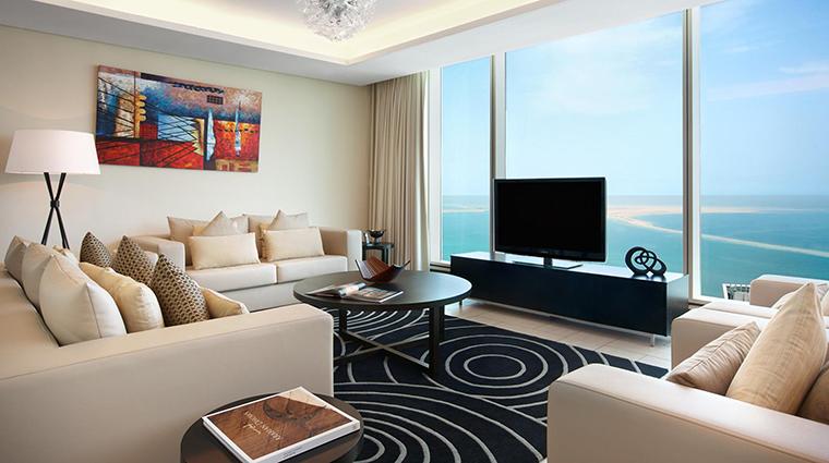 Property KempinskiResidences&SuitesDoha Hotel GuestroomSuite Premier3BedroomSuiteLivingRoom KempinskiHotels
