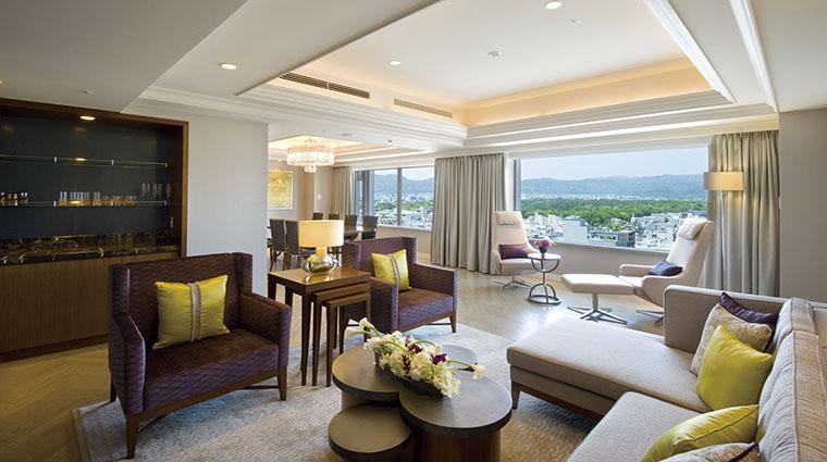 Property KyotoHotelOkura Hotel GuestroomSuite ImperialSuiteLivingRoom TheKyotoHotelLTD