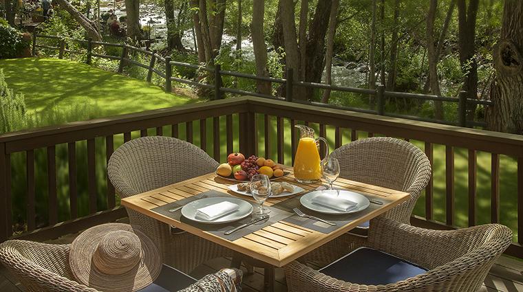 Property LAubergedeSedona Hotel GuestroomSuite CottageDeckBreakfast LAubergedeSedona