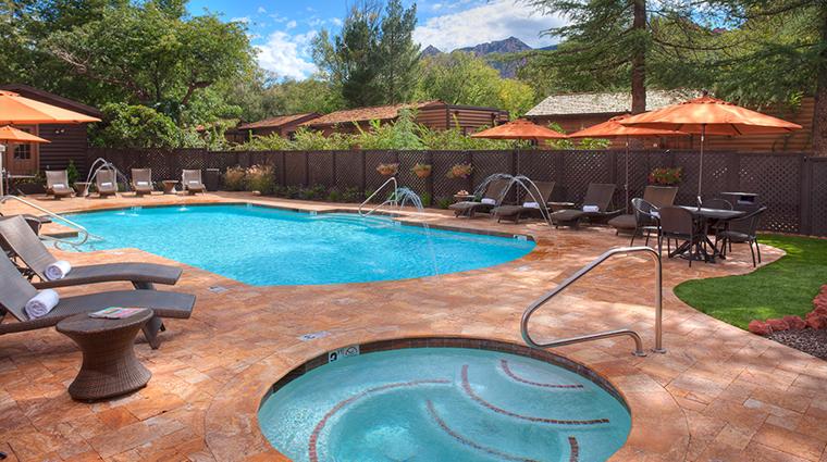 Property LAubergedeSedona Hotel PublicSpaces SwimmingPool LAbergedeSedona