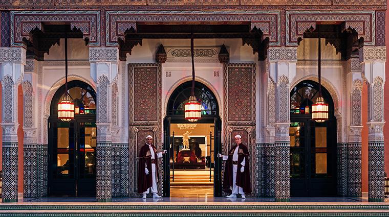 Property LaMamounia Hotel Exterior Entrance LaMamounia
