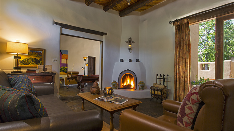Property LaPosadadeSantaFe Hotel GuestroomSuite BacaSuiteLivingRoom StarwoodHotels&ResortsWorldwideInc