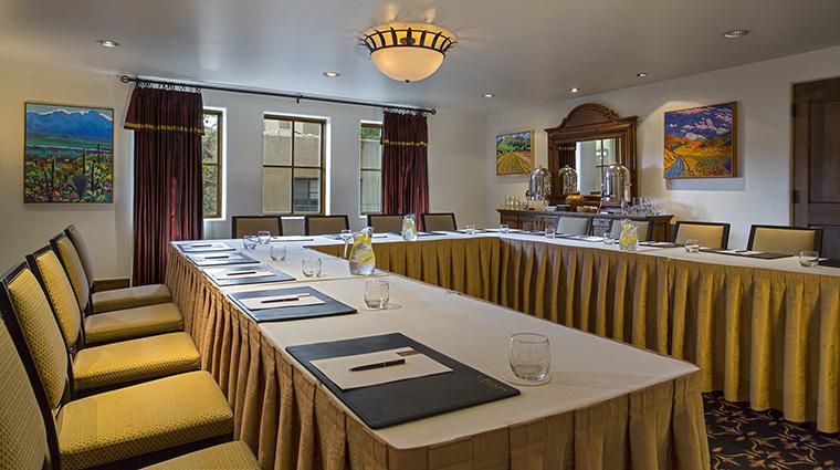 Property LaPosadadeSantaFe Hotel PublicSpaces CanyonRoom StarwoodHotels&ResortsWorldwideInc