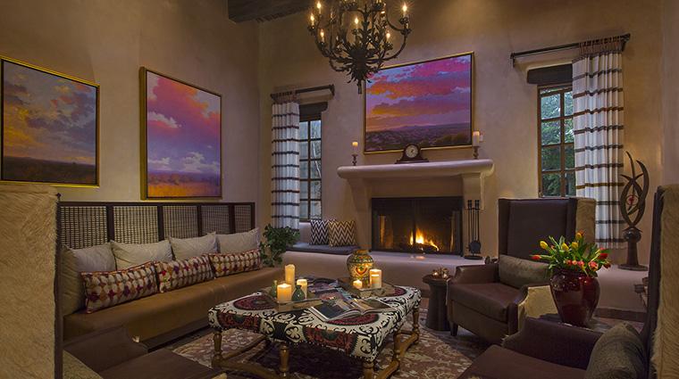 Property LaPosadadeSantaFe Hotel PublicSpaces Lobby StarwoodHotels&ResortsWorldwideInc
