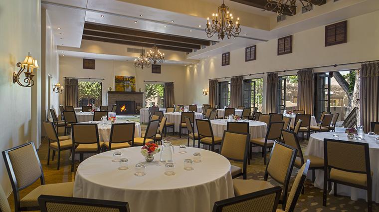 Property LaPosadadeSantaFe Hotel PublicSpaces MontanaBallroom StarwoodHotels&ResortsWorldwideInc