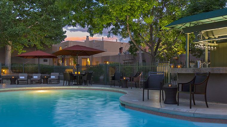 Property LaPosadadeSantaFe Hotel PublicSpaces OutdoorPool StarwoodHotels&ResortsWorldwideInc
