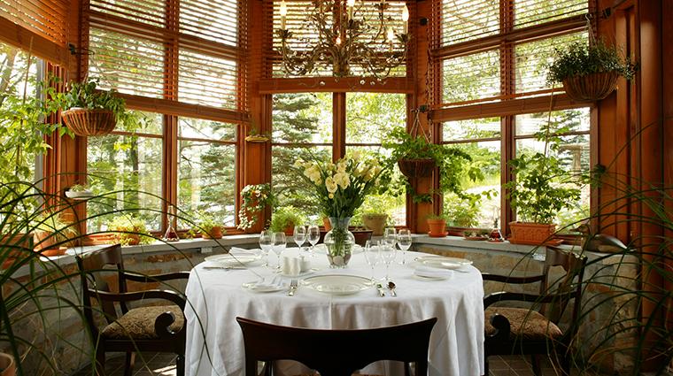 Property LaQuintessenceRestaurantandWinebar Restaurant 1 Style ChefsTable CreditQuintessenceResortHotel