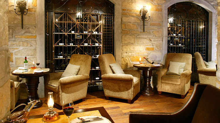 Property LaQuintessenceRestaurantandWinebar Restaurant 5 Style WinebarSeating CreditQuintessenceResortHotel