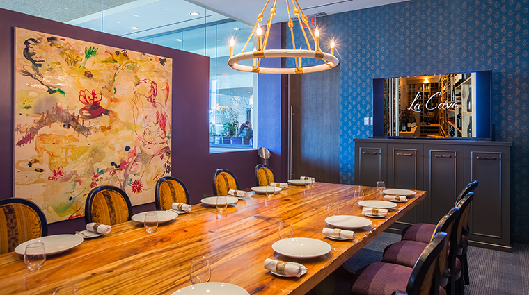 Property LaTableChateau Restaurant Dining ChampagneRoom LaTable