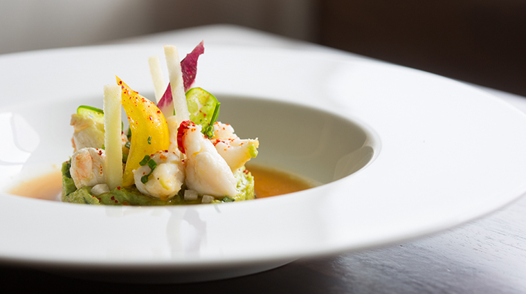 Property LaTableChateau Restaurant Dining ColossalCrabSalad LaTable