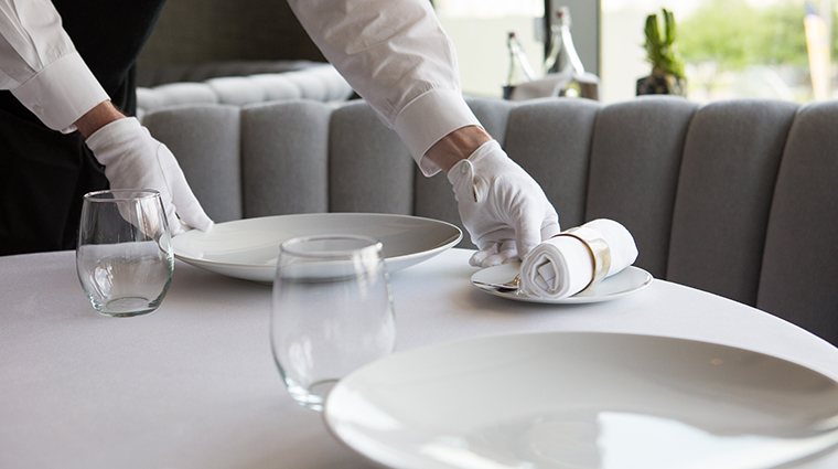 Property LaTableChateau Restaurant Dining TableSetting LaTable