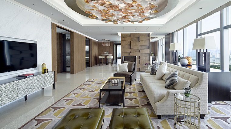 Property LanghamPlaceGuangzhou Hotel GuestroomSuite ThePenthouseLivingRoom LanghamHotelsInternationalLimited