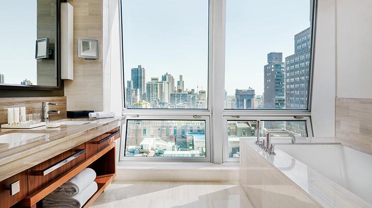 Property LanghamPlaceNewYork Hotel GuestroomSuite ResidenceSuiteBathroom LanghamHotelsInternationalLimited