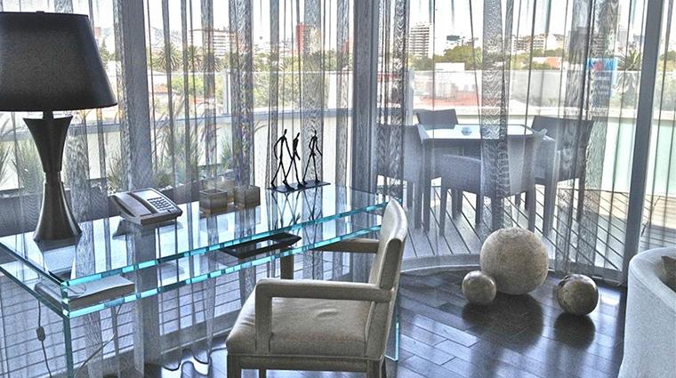 Property LasAlcobasMexicoCity Hotel GuestroomSuite PresidentialSuiteDeskArea MarriottInternationalInc