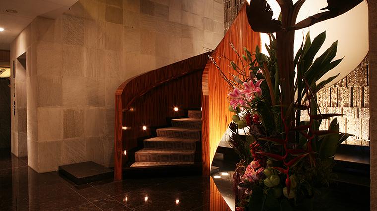 Property LasAlcobasMexicoCity Hotel PublicSpaces LobbyStaircase MarriottInternationalInc