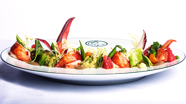 Property LeCirqueLasVegas Restaurant Dining Lobster&AvocadoSalad MGMResortsInternational