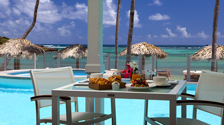 Property LeGuanahani Hotel Dining IndigoBreakfast LeGuanahani