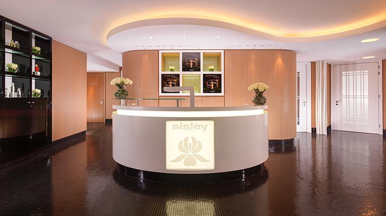 Property LeSpabySisley Spa Reception DorchesterCollection