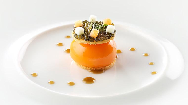 Property LesAmis Restaurant Dining CaviarOverPoachedEggandSmokedSalmon LesAmisGroup