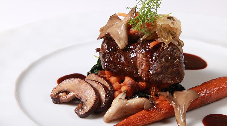Property LesNomades Restaurant Dining Beef LesNomades