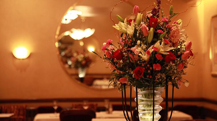 Property LesNomades Restaurant Dining FlowerArrangement LesNomades