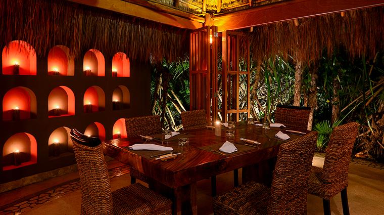 Property LiveAquaCancun Hotel Dining HiddenGarden GrupoPosadas