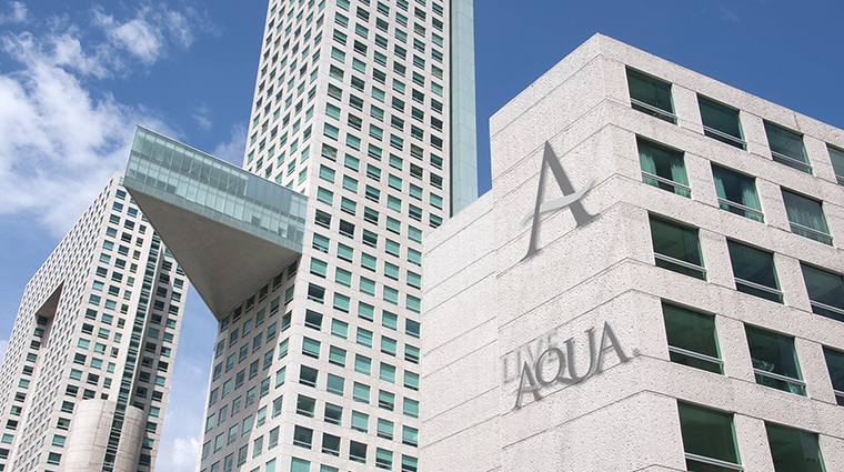 Property LiveAquaMexicoCity Hotel Exterior Facade GrupoPosadas