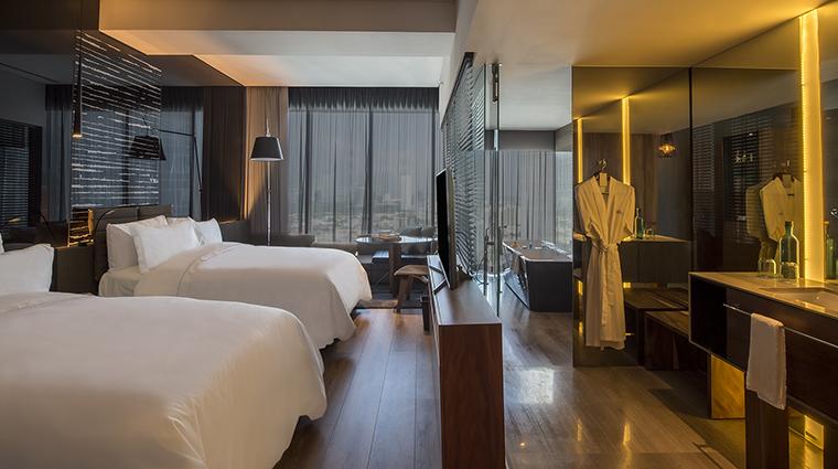 Property LiveAquaMonterreyValle Hotel GuestroomSuite DeluxeDoubleRoom GrupoPosadas