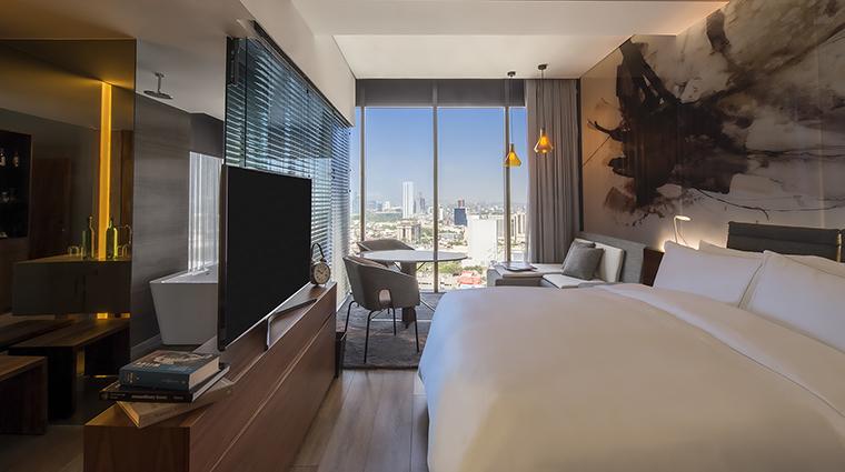 Property LiveAquaMonterreyValle Hotel GuestroomSuite DeluxeKingRoom GrupoPosadas