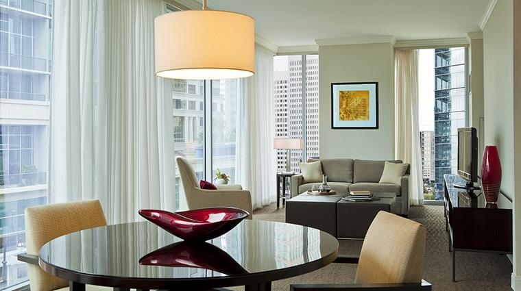 Property LoewsAtlanta Hotel GuestroomSuite GrandLuxeSuiteLivingRoom LoewsHotels