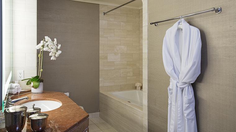 Property LoewsRegencySanFrancisco Hotel GuestroomSuite GuestRoomBathroom LoewsHotelsResorts