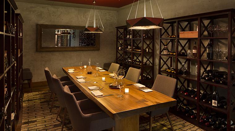 Property LuciaRestaurant&Bar Restaurant Dining PrivateDiningRoom BernardusLodge&Spa